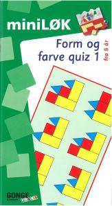 Mini løk: form og farvequiz 1 15-214315