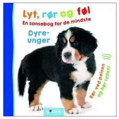 Bolden - Lyt, rør og føl med dyreunger 4-9788771069747