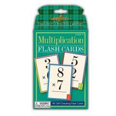 Eeboo Flash Cards, Multiplication - Gange 10-EFMULT2