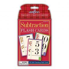 Eeboo - Flash Cards, Subtraktion - Minus 10-EFLSUB2
