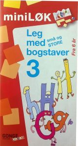 Mini løk: leg med bogstaver 3 15-216112