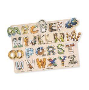 Melissa and Doug - Puslespil med engelsk alfabet 7-10083
