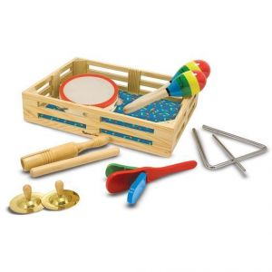 Melissa and Doug - Musikkasse med instrumenter 7-10488