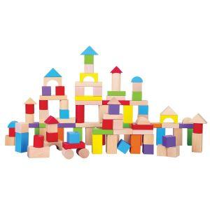 New Classic Toys - Byggeklodser i træ 11-N10812