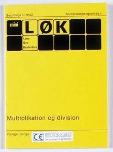 Mini løk*: multiplikation/division 15-215103