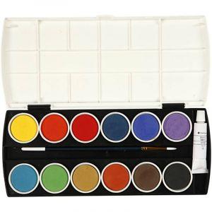 Farvelade , 12 stk farver 27-34240