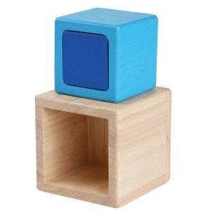 PlanToys - Byggeklodser firkantede 15-5375