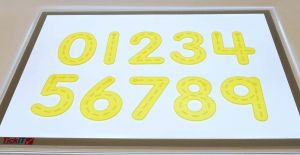 Taktile tal 12 cm 78-54509