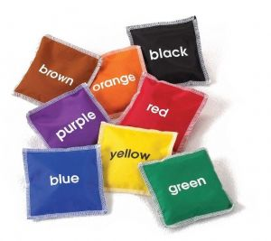 Ærteposer med farver 78-53965