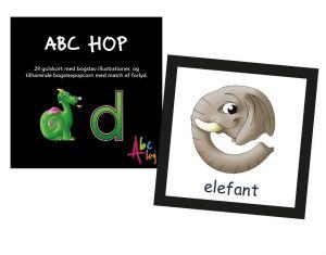 ABC Leg - ABC Hop - Lær bogstaver med kroppen 99-1536