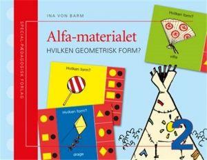 SP Forlag - Alfa-materialet 2, Hvilken geometrisk form 2-210005