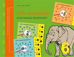 SP Forlag - Alfa-materialet 6, Hvor mange bogstaver 2-210009