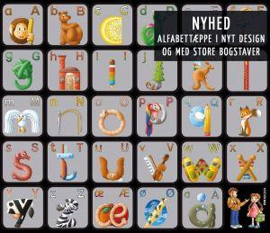 ABC Leg - Læringstæppe Alfabet 99-1416