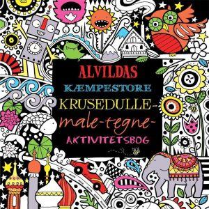 alvildas - kæmpestore krusedulle-male-tegne-aktivitetsbog 1051308