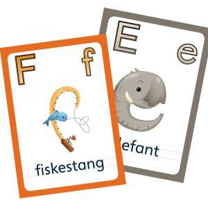 ABC Leg - ABC Bogstavkort med store og små bogstaver 99-3573