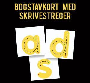 ABC Leg - Kæmpe bogstaver med skriveveje 3974