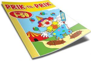 Bolden - Prik til Prik med tallene 1-50 4-9788771061055