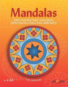 Mandalas malebog - Den fantastiske fra 4 år 34-02