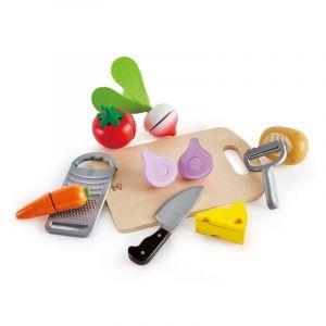 Hape Legemad - Basisredskaber og madvarer 6115
