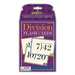 Eeboo - Flash Cards, Division 10-EFLDIV2