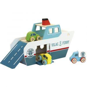 Vilac - Vilacity - Færge inkl. 3 biler 2368