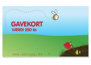 ABC Leg - Gavekort 2. kr.300 3892