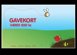 ABC Leg - Gavekort 3. kr. 500 3893