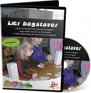 Læringsstilsæt - Lær bogstaver med øjne, ører, hænder og krop 99-828