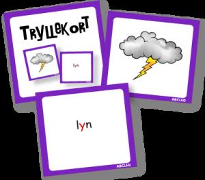 Tryllekort - Lydrette ord incl. trylletårn 99-4107