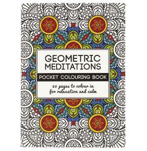 Mindfulness malebog, geometrisk 27-19274