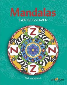 Mandalas malebog - Lær bogstaver 34-04