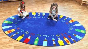 Læringstæppe engelsk alfabet 60-MAT1007