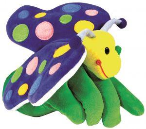 Beleduc - Hånddukke sommerfugl 11-40280
