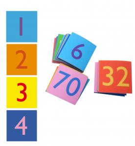 ABC Leg - Gulvbrikker - lær gangetabel 99-3887