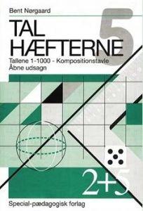 SP Forlag - Talhæfte 5 - Tallene 0-1000, kompositionstavle og udsagn 2-456010