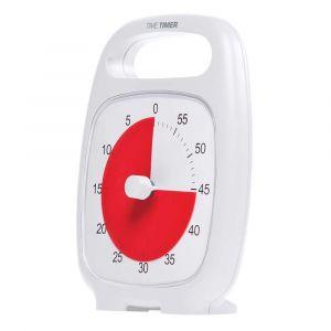 Time Timer PLUS Hvid (14x18 cm.) - 60 min. 26-jac5030