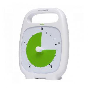 Time Timer PLUS Hvid (14x18 cm.) - 5 min. 26-JAC5036
