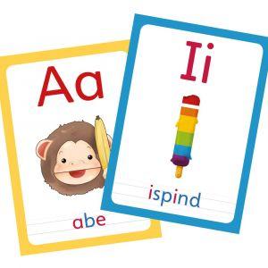ABC Leg - ABC Bogstavkort med vokaler og konsonanter 99-3576